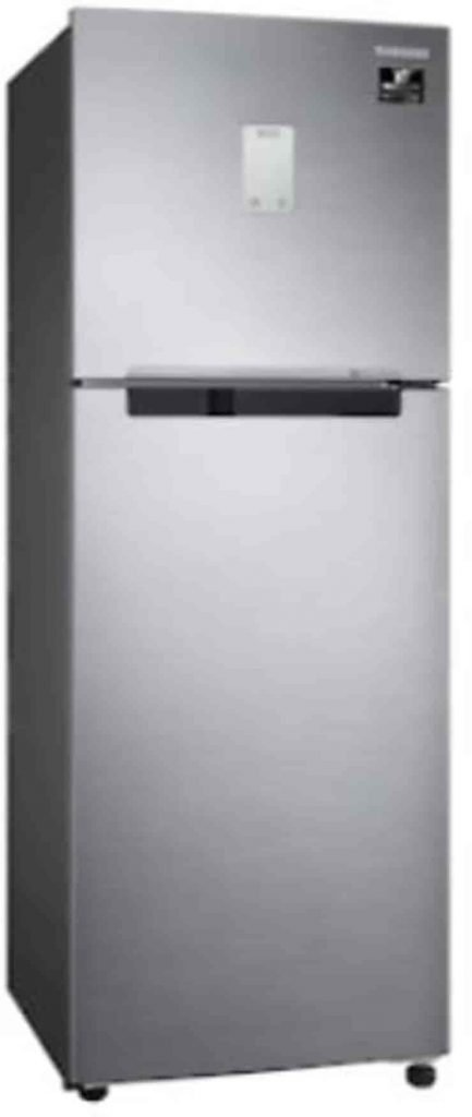 Bestseller Refrigerators, Best Refrigerator in India; Best refrigerator brand in India; Samsung 324 L Inverter Frost Free Double Door Refrigerator(RT34M5538S8/HL, Elegant Inox, Convertible)